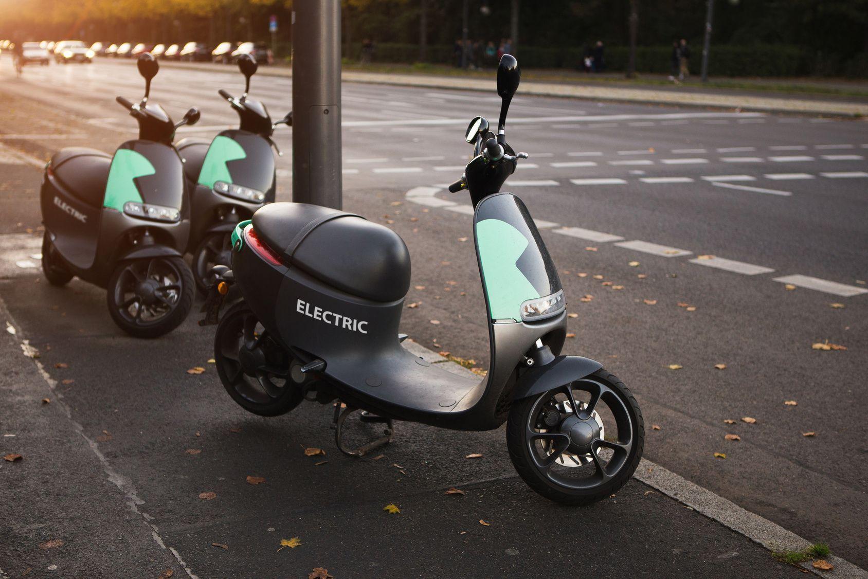 Fotografia El número de motos eléctricas sigue aumentando