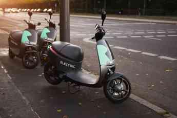 El número de motos eléctricas sigue aumentando