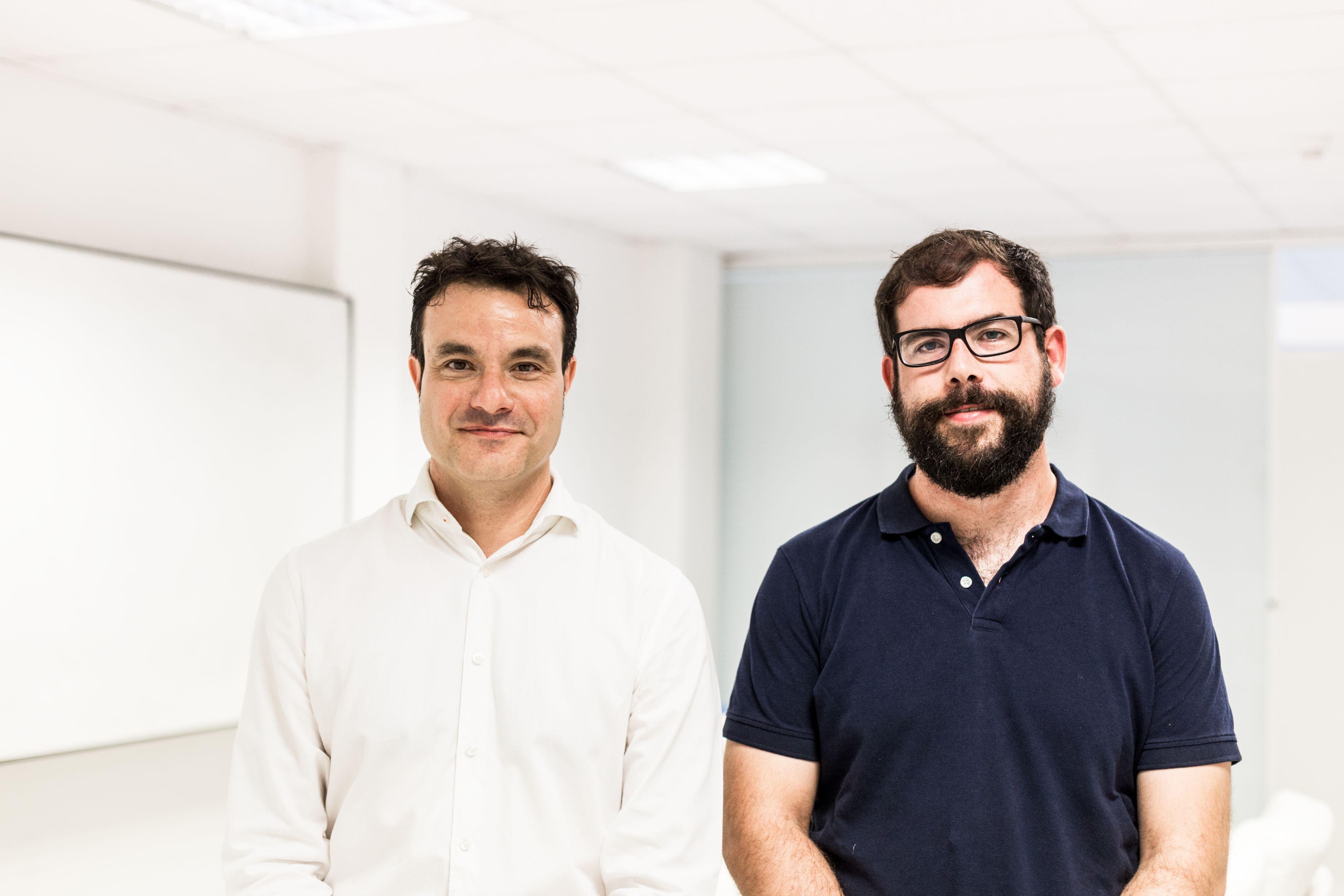 Foto de Ángel Mayoral (izda.) y Alberto García, cofundadores de