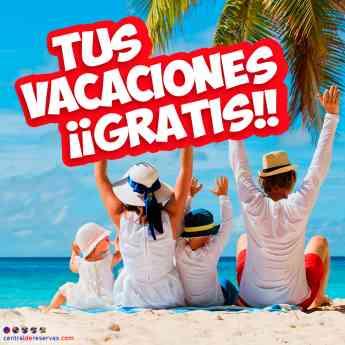 Sorteo Vacaciones Gratis en Centraldereservas.com