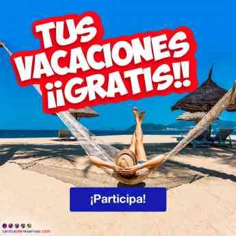 Foto de Sorteo Vacaciones Gratis en Centraldereservas.com