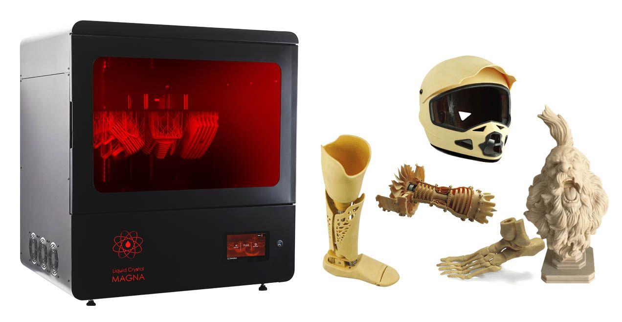 Foto de impresora 3D Magna