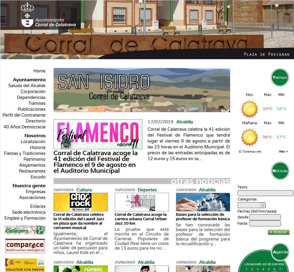 El Ayuntamiento de Corral de Calatrava se adapta a las nuevas demandas de la era digital