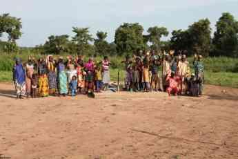 Foto de Algunos habitantes de la comunidad de Benín, en África