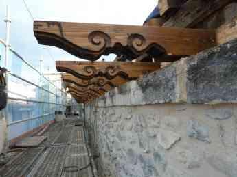 Foto de Aleros madera