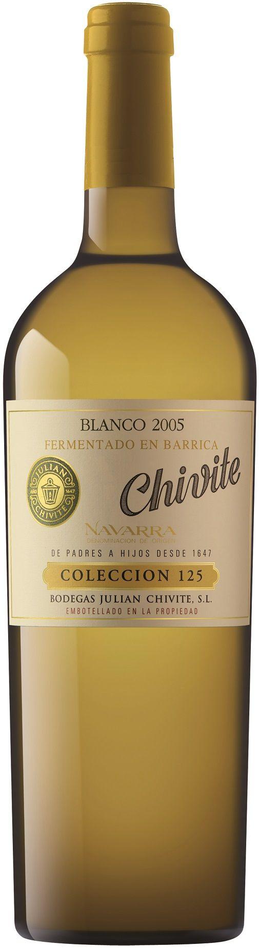 Foto de Chivite Colección 125 Blanco 2005