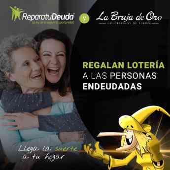 Foto de Repara tu deuda y la bruja de oro regalan loteria