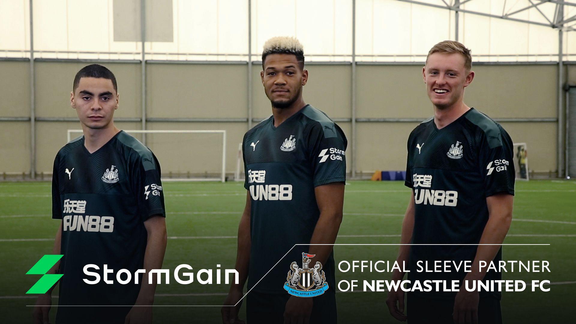 StormGain se convierte en Socio Oficial del Newcastle United