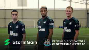 StormGain nuevo socio de Newcastle United FC
