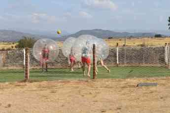 Foto de Futbol burbuja en las instalaciones
