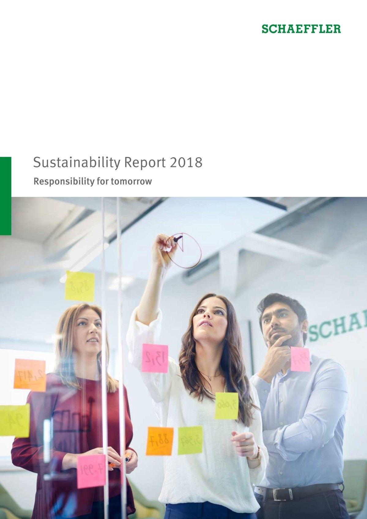 Foto de Informe de Sostenibilidad 2018 de Schaeffler
