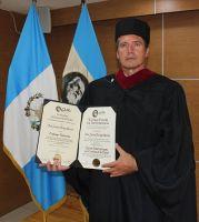 El investigador Jaime Parejo ha sido investido Doctor Honoris Causa por la prestigiosa Universidad Galileo