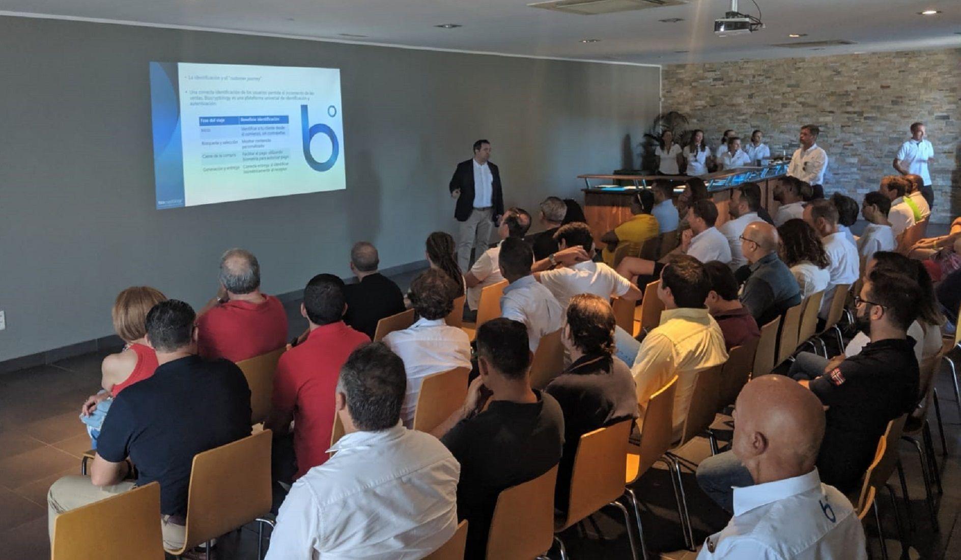 Foto de Biocryptology presentación