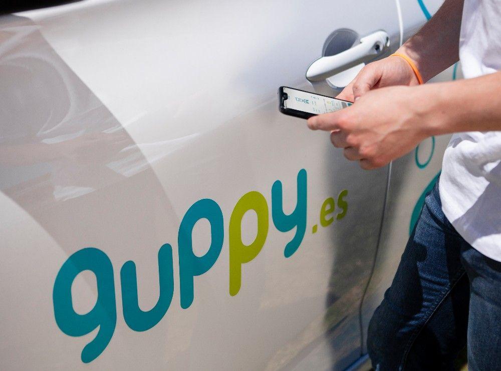 Foto de guppy carsharing