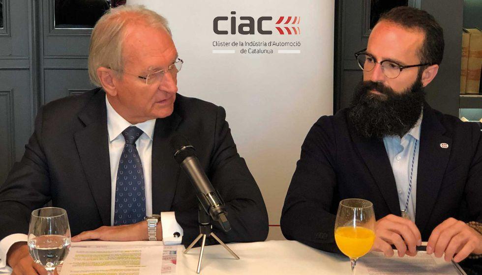Foto de Josep Maria Vall y Josep Nadal, de CIAC