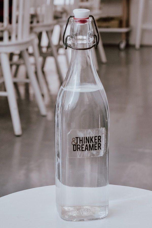 Foto de Botella de cristal para agua