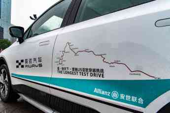 AIWAYS se asocia con Allianz Partners para la gran aventura que llevará a sus vehículos eléctricos de China hasta Europa