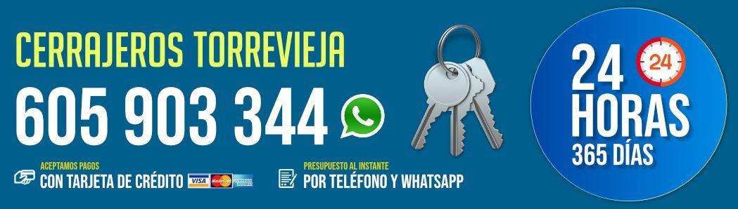 Aumenta la demanda de Cerrajeros en Torrevieja AC