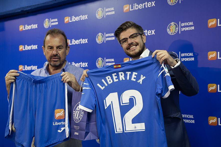 Fotografia Libertex, nuevo patrocinador del Getafe CF