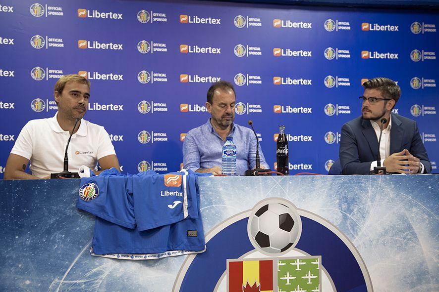 Fotografia Rueda de prensa Libertex y Getafe