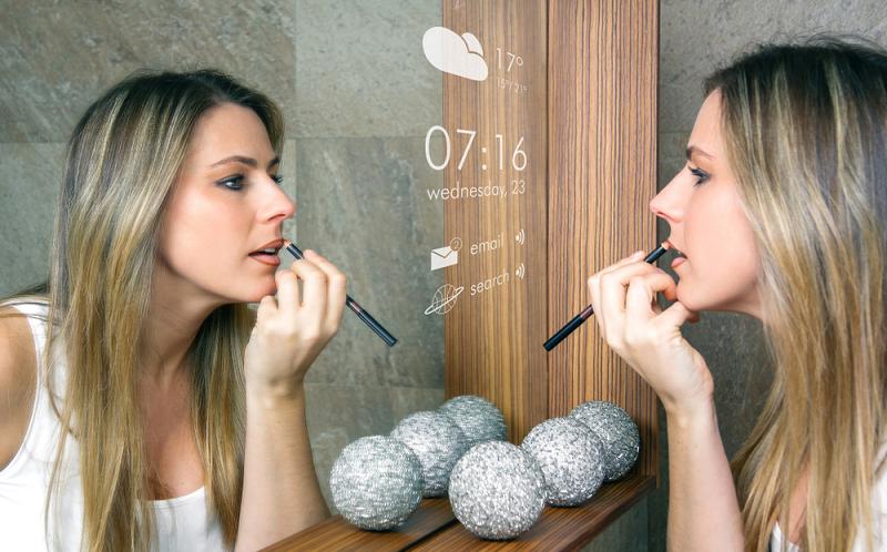 Los espejos inteligentes, un producto en auge
