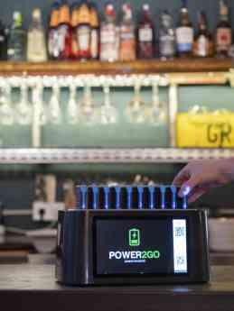 Estaciones de baterías de Power2go
