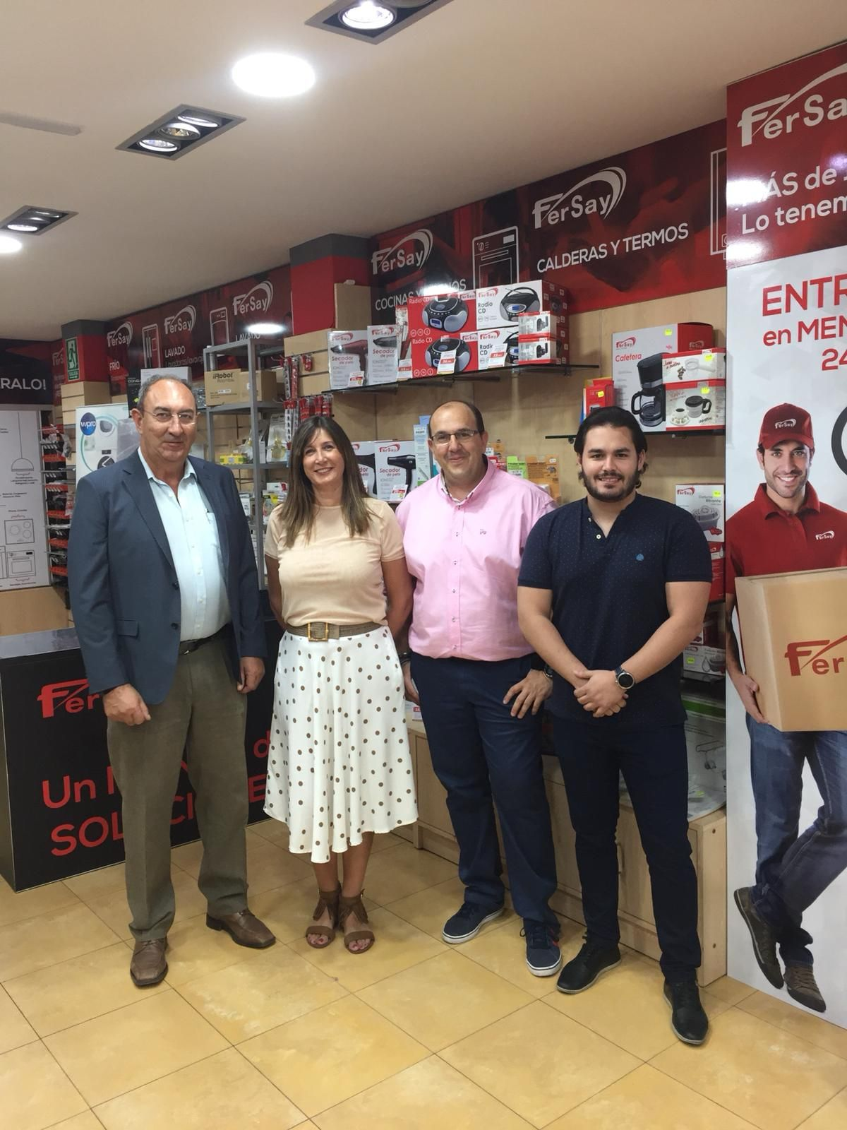 La central de repuestos y accesorios Fersay inaugura una nueva franquicia en Puertollano