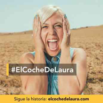 Foto de Imagen promocional de la campaña #ElCocheDeLaura de ILERNA