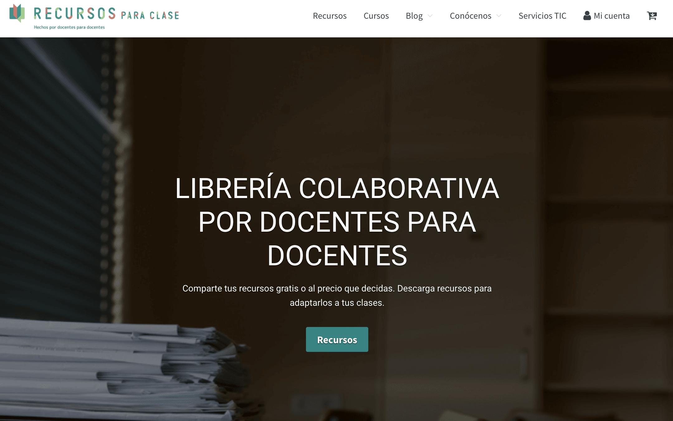 Nace Recursos para Clase, una plataforma hecha por docentes para docentes