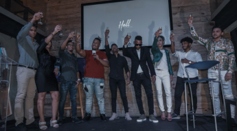 Foto de all Dominican influencers, toast in support of Serranow