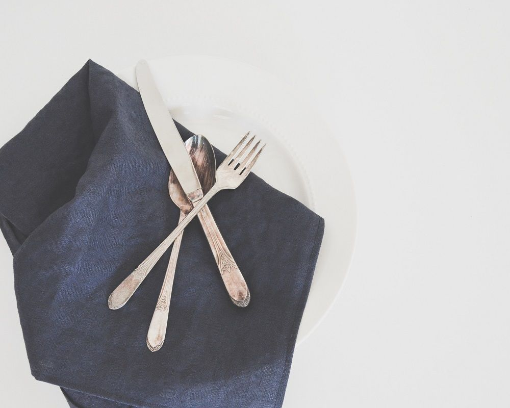 Foto de Cubiertos en la mesa