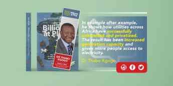 África debe disociar sus empresas de servicios públicos
