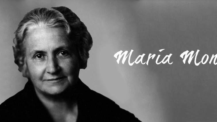 Foto de María Montessori nació el día 31 de agosto de 1870.