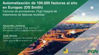 Foto de Automatización de 100.000 facturas al año en EUROPAC (DS