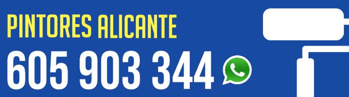 Pintores Alicante triunfa en la provincia con sus nuevos servicios