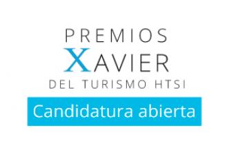 Abierta la convocatoria para los Premios Xavier del Turismo-HTSI