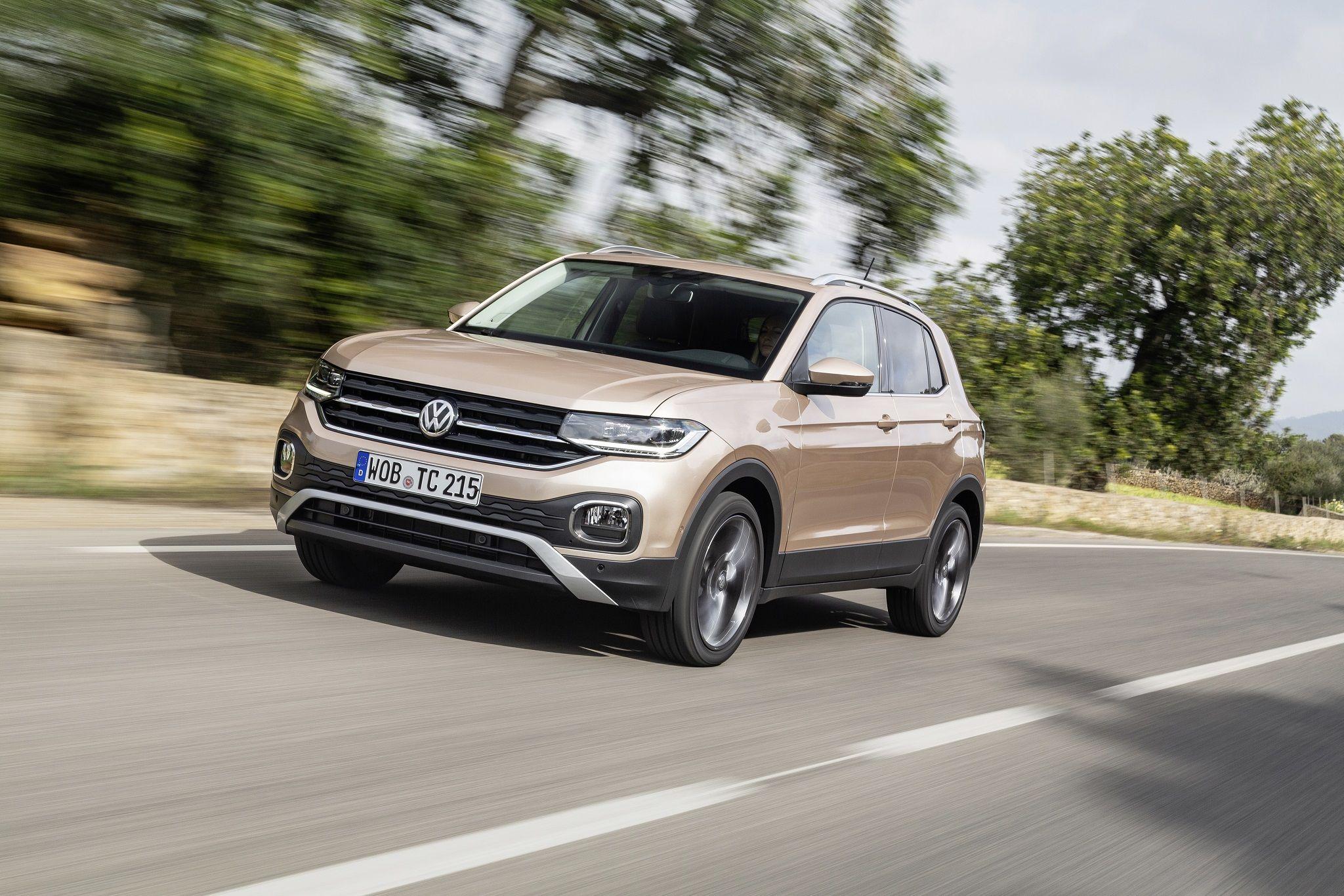 Foto de Volkswagen T-Cross. Fuente: Volkswagen AG