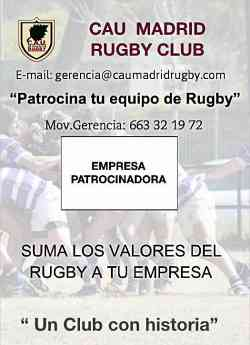 PATROCINIO CAU MADRID RUGBY CLUB