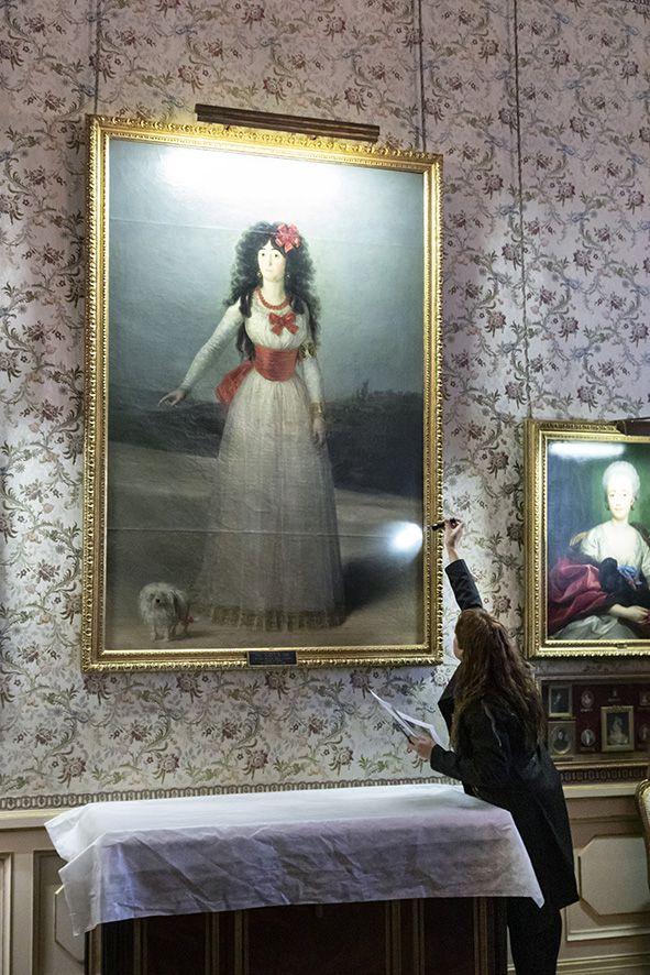 Foto de Retrato duquesa de Alba de Goya