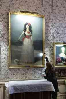 Retrato duquesa de Alba de Goya