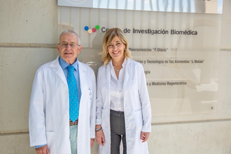 Fotografia Dra. Germaine Escames y Dr. Darío Acuña, Directores