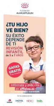 XX CAMPAÑA EN FAVOR DE LA SALUD VISUAL INFANTIL
