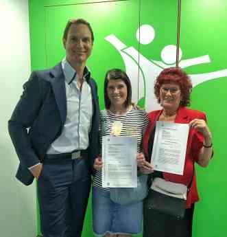 Javier Cardenas y las dos hermanas que han cancelado mas de 400.000 eur con la ley de la segunda oportunidad