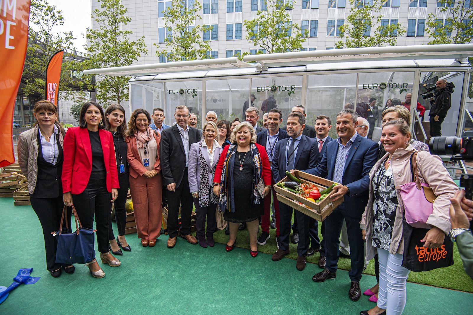 """EUCOFEL lanza el programa europeo """"CuTE: Cultivando el sabor de Europa"""" en el Parlamento Europeo, Bruselas"""