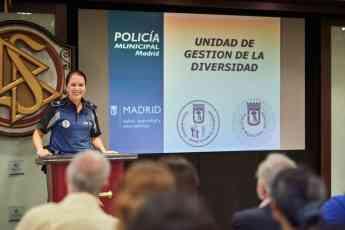 Foto de fundacion mejora - policia madrid - premios libertad religiosa