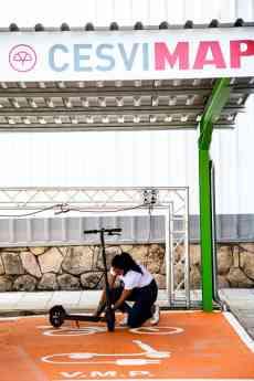 Foto de CESVIMAP Patinete Eléctrico