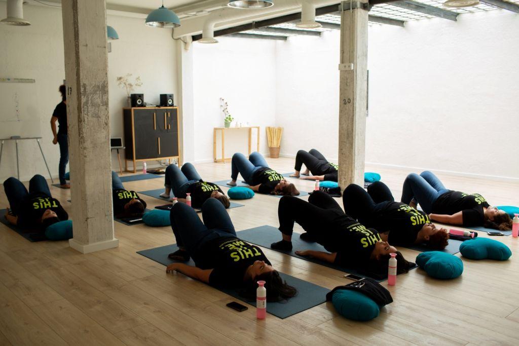 Fotografia MS Mode - Master class de yoga