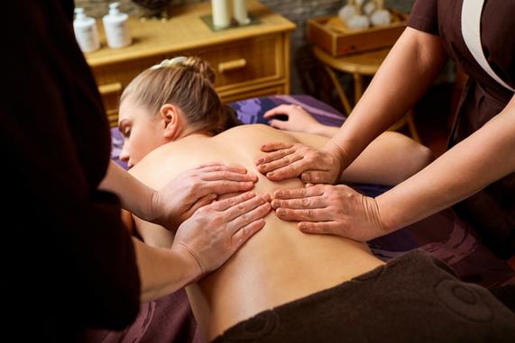 Fotografia Four-hand massage en Barceló Hamilton Menorca