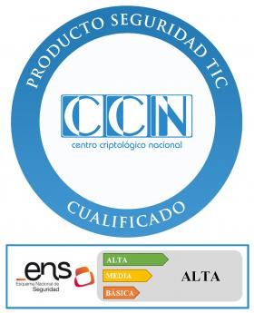 Foto de Sello de la cualificación - CCN