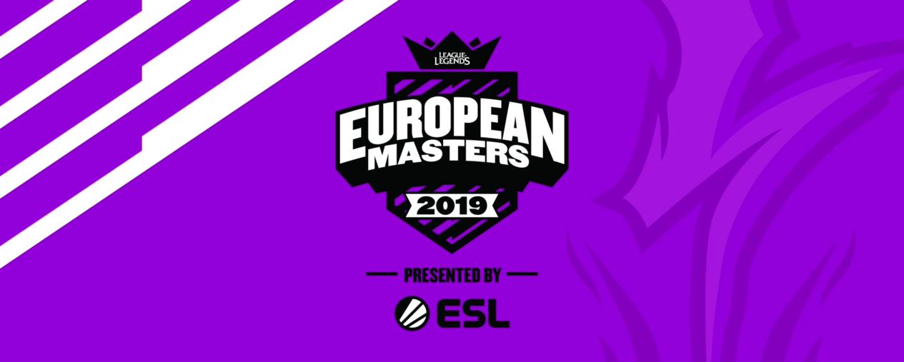 Fotografia European Masters de LoL